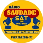 Logo da emissora Rádio Saudade Sat Parnaíba