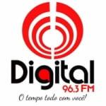 Logo da emissora Rádio Digital 96.3 FM