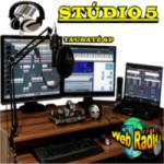 Logo da emissora Stúdio 5 Web Rádio