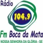 Logo da emissora Rádio FM Boca da Mata 104.9