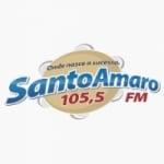 Logo da emissora Rádio Santo Amaro 105.5 FM