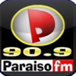 Logo da emissora Rádio Paraíso 90.9 FM
