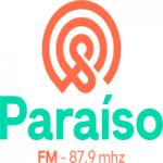 Logo da emissora Rádio Paraíso 87.9 FM