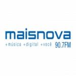Logo da emissora Rádio Maisnova 90.7 FM