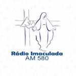 Logo da emissora Rádio Imaculada 580 AM