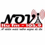 Logo da emissora Rádio Nova Itu 105.9 FM