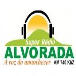 Logo da emissora Super Rádio Alvorada 740 AM