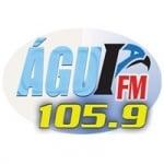 Logo da emissora Rádio Águia 105.9 FM