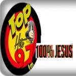 Logo da emissora Rádio Top Hits FM