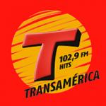 Logo da emissora Rádio Transamérica Hits 102.9 FM