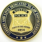 Logo da emissora Radio Scanner Boston Police, Fire and EMS