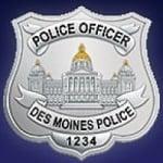 Logo da emissora Radio Scanner Police Des Moines