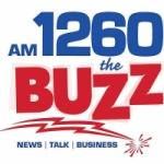 Logo da emissora Radio WBIX The Buzz 1260 AM