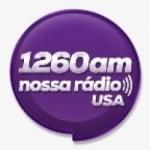 Logo da emissora Radio Nossa Radio USA 1260 AM