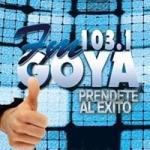Logo da emissora Radio Goya 103.1 FM
