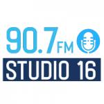 Logo da emissora Radio Studio 16 90.7 FM