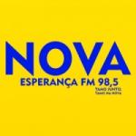 Logo da emissora Rádio Nova Esperança FM