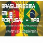 Logo da emissora Rádio Brasileiríssima Em Portugal