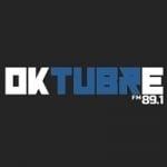 Logo da emissora Radio Oktubre 89.1 FM