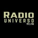 Logo da emissora Radio Universo 99.5 FM