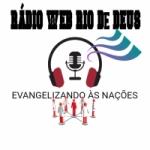 Logo da emissora Rádio Web Rio de Deus