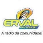 Logo da emissora Rádio Erval 104.9 FM
