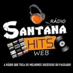 Logo da emissora Rádio Santana Hits Web
