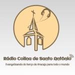 Logo da emissora Rádio Colina de Santo Antônio