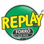 Logo da emissora Replay Forró 4.1