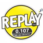 Logo da emissora Rádio Replay Funk