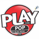 Logo da emissora Play Pop 8.0