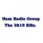 Logo da emissora K5AHT 3819 Ham