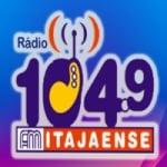 Logo da emissora FM Itajaense