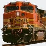 Logo da emissora Rail Road BNSF Stockton Sub