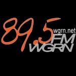 Logo da emissora Radio WGRN 89.5 FM