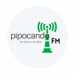 Logo da emissora Web Pipocando FM