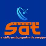 Logo da emissora Rádio Forró Sat FM