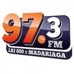 Logo da emissora Radio Madariaga 97.3 FM