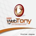 Logo da emissora Rádio Web Tony