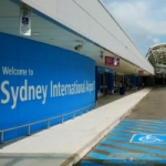 Logo da emissora Sydney International Airport