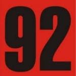 Logo da emissora Rádio 92 FM