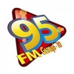 Logo da emissora Rádio 95 FM