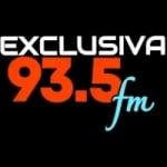 Logo da emissora Rádio Exclusiva 93.5 FM