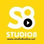 Logo da emissora Web Rádio Studio 8