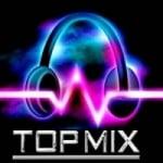 Logo da emissora Rádio Top Mix JF