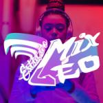 Logo da emissora Estação Mix Léo
