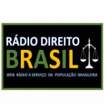 Logo da emissora Rádio Direito Brasil