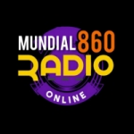 Logo da emissora Web Rádio Mundial 860