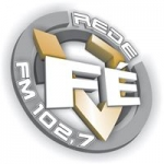 Logo da emissora Rádio Rede Fé 102.7 FM