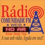 Logo da emissora Rádio Comunidade FM Web